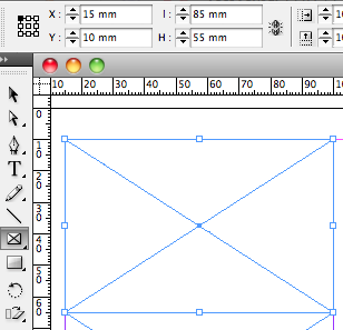 Blocs rectangulaires dans InDesign